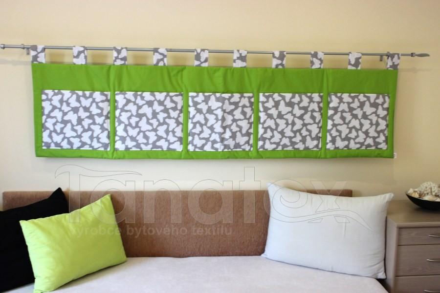 Kapsář - Kiwi zelený - šedí motýlci - velký