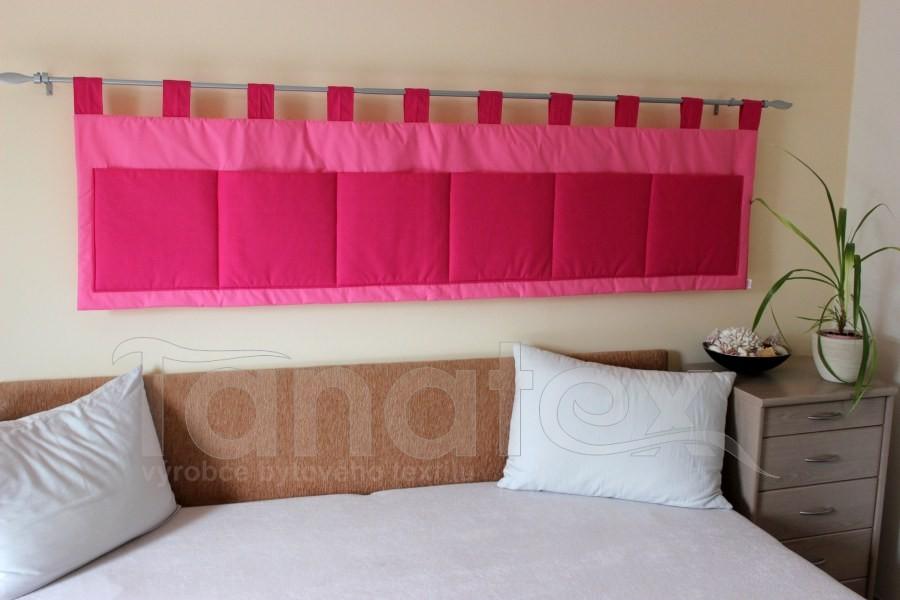 Kapsář - Středně růžový - sytě růžový - velký