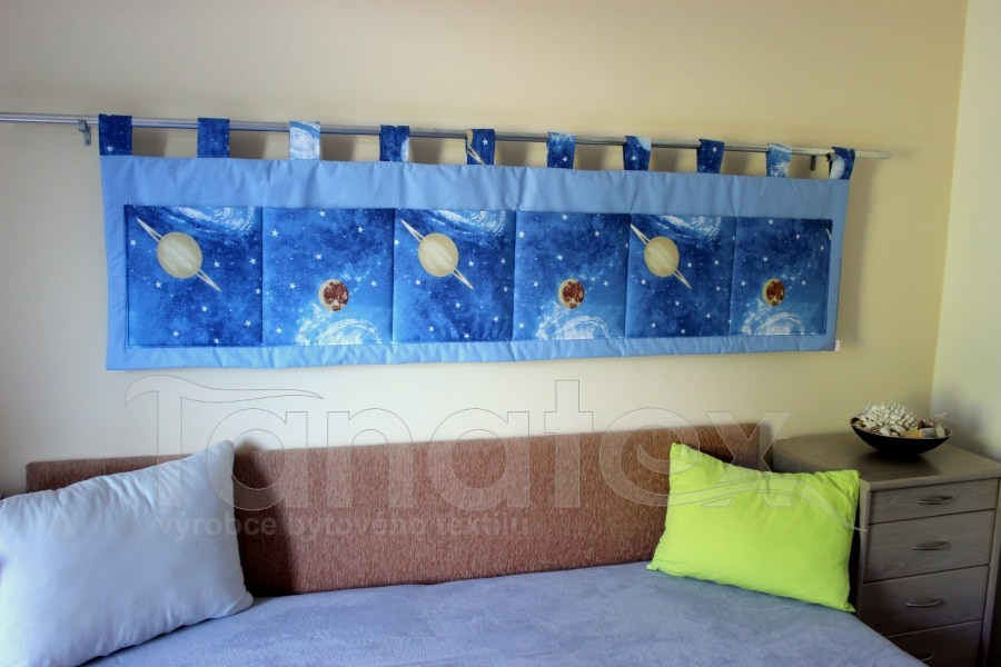 Kapsář - Světle modrý - planety
