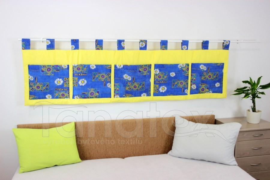 Kapsář - Modré léto na žluté