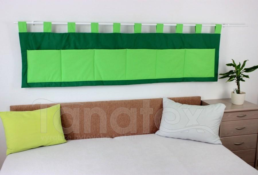 Kapsář - Uni zelený - zelené kapsy