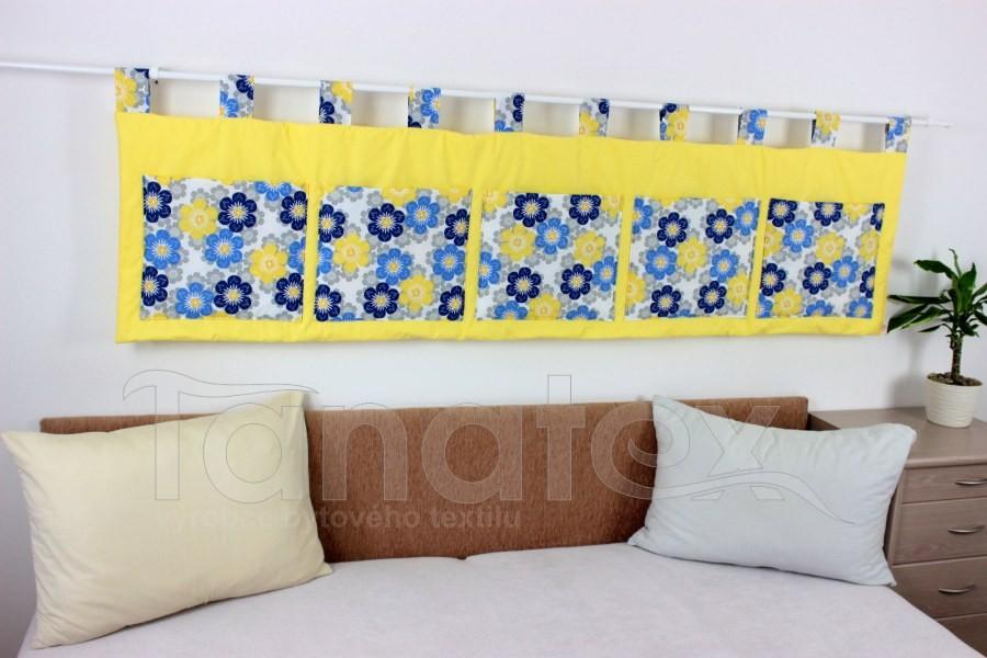 Kapsář - Modrožluté léto  na žluté