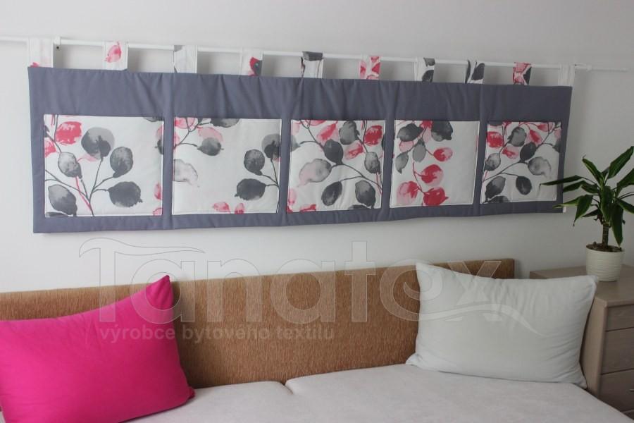 Kapsář - Větvičky šedé - růžové