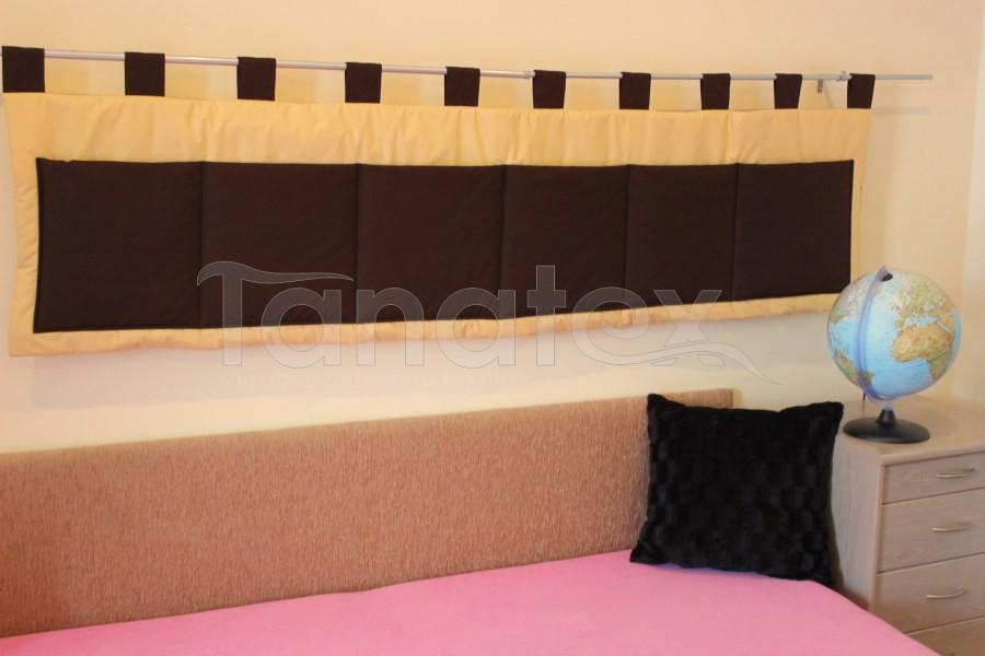 Kapsář - Uni pískový - hnědé kapsy - velký