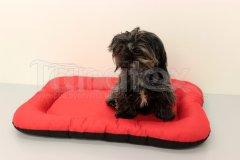 Omyvatelná podložka - velikost M - červená Pelíšky pro psy - Pelechy - Lehká podložka - Velikost M - 40x60