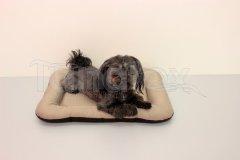 Omyvatelná podložka - velikost L - béžová Pelíšky pro psy - Pelechy - Lehká podložka - Velikost L - 50x70