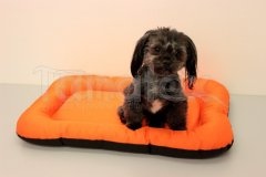 Omyvatelná podložka - velikost L - oranžová Pelíšky pro psy - Pelechy - Lehká podložka - Velikost L - 50x70