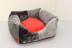 Čtveráček malý - mikroplyš Style - uni červený Pelíšky pro psy - Pelechy - Čtveráček