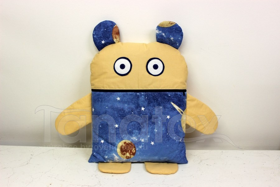 Pyžamožrout - Vesmírný návštěvník + uni béžová - Pyžamožrout - Žrout snů