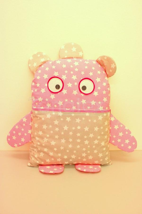 Pyžamožrout - Strašidýlko růžové s hvězdičkami - Pyžamožrout - Žrout snů