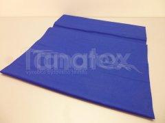 Prostěradlo na gumu královsky modré v25 220x200 Prostěradla - Plátěná prostěradla - napínací do gumy - 200x220 - barevné
