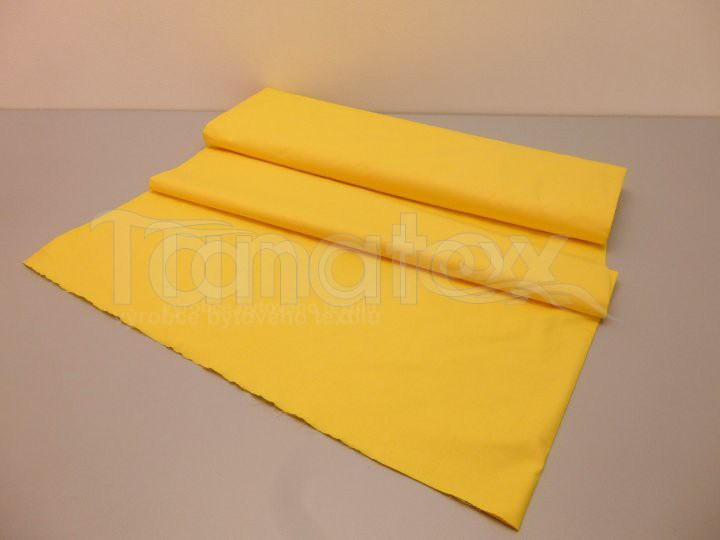 Prostěradlo na gumu žluté v5 220x200 - barevné