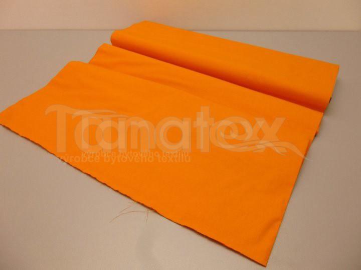 Prostěradlo na gumu oranžové v8 220x200 - barevné