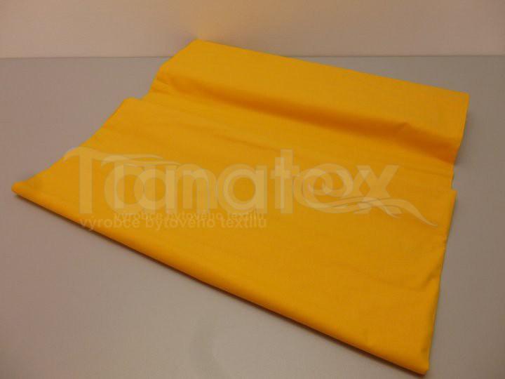 Prostěradlo na gumu žlutooranžové v6 220x200 - barevné