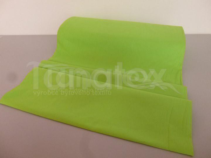 Prostěradlo na gumu zelené v11 200x200 - barevné