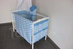 5 ti dílná sada Sladké sny v modrém Pro děti - Polštářek pro miminko - Zvýhodněné sady pro miminko