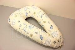 Kojící polštář Čáp s miminkem Pro děti - Kojící polštář