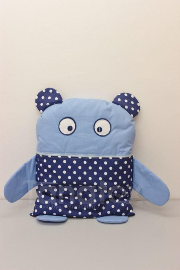 Pyžamožrout - Strašidýlko modré s puntíky