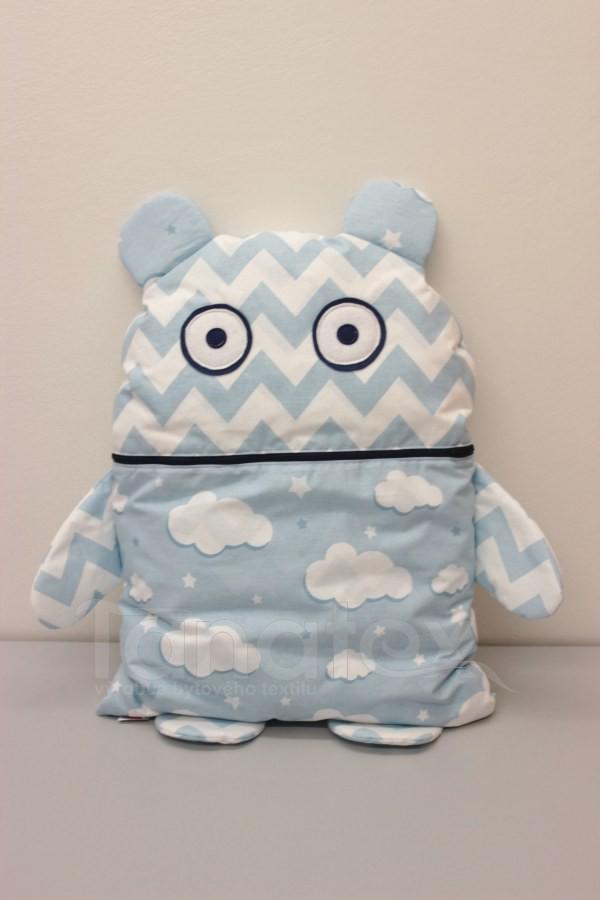 Pyžamožrout - Modrý cik cak a obláčky - Pyžamožrout - Žrout snů
