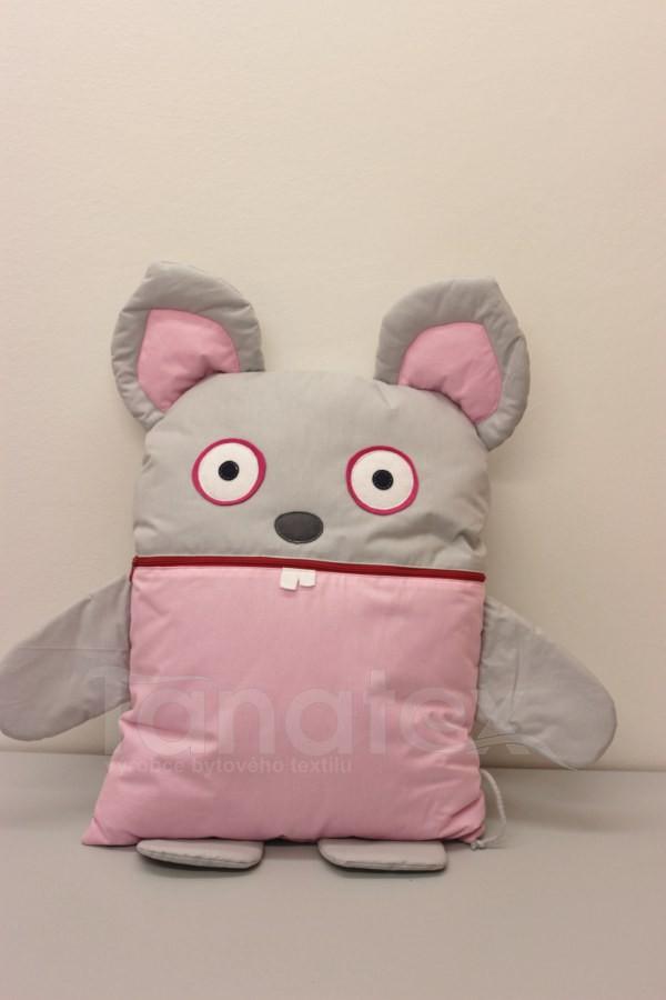 Pyžamožrout - Šedorůžová  myška