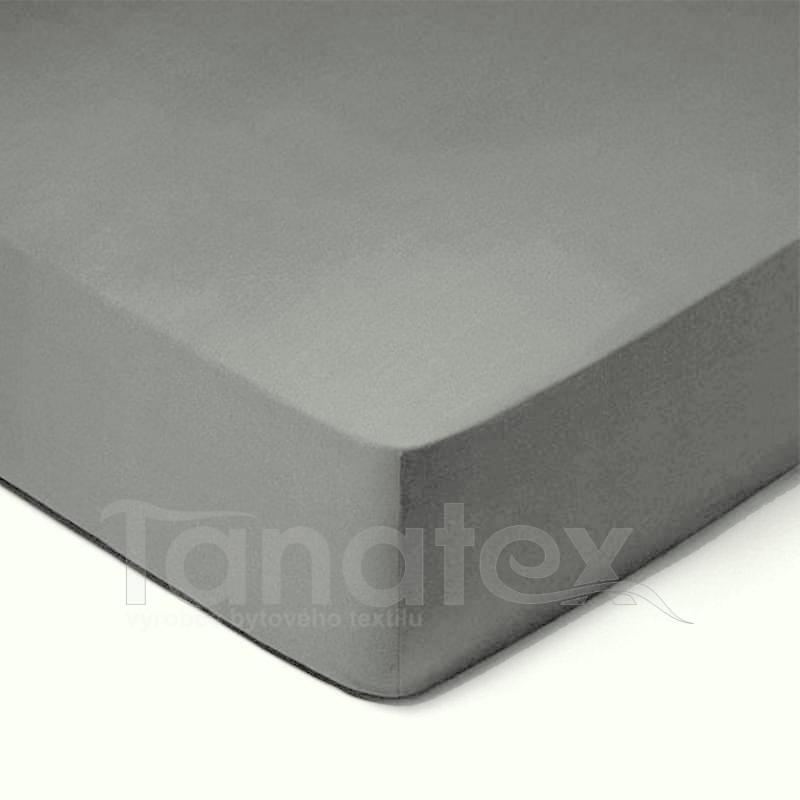 Mikroplyšové povlečení č.131 středně šedé