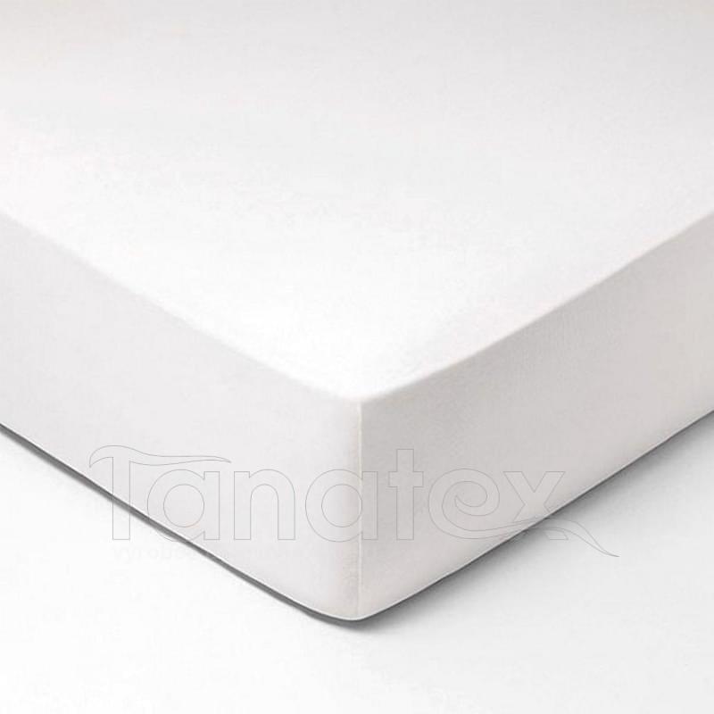 Prostěradlo mikroplyš  č.1 bílé