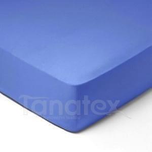 Mikroplyšové povlečení č.24 středně modré