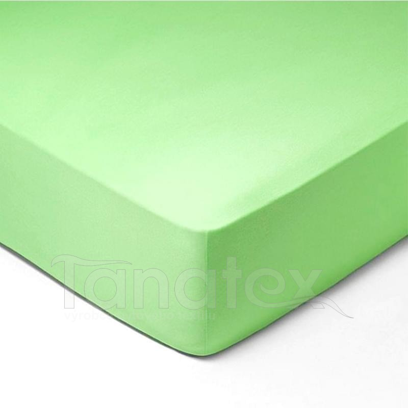 Prostěradlo froté č.335 světle zelené