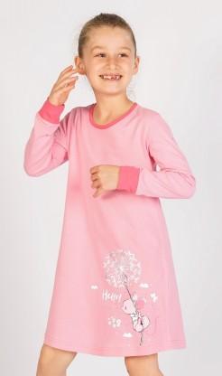 Dětská noční košile s dlouhým rukávem Myš s pampeliškou