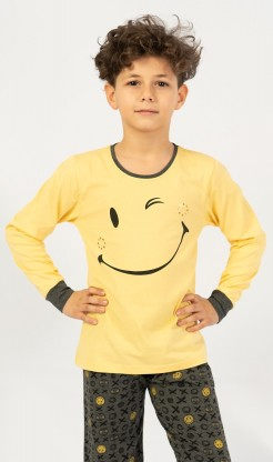 Dětské pyžamo dlouhé Patrik - Chlapecká pyžama s dlouhým rukávem