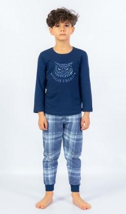 Dětské pyžamo dlouhé Sova
