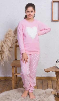 Dětské pyžamo dlouhé Srdce
